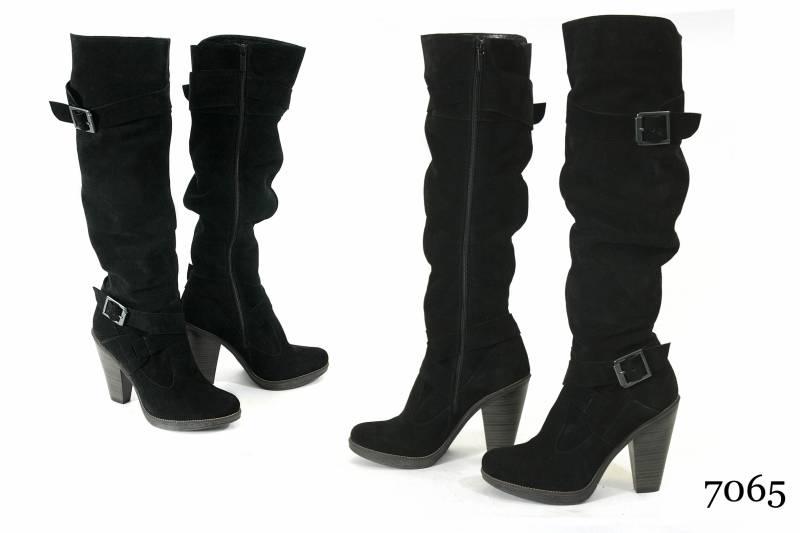 Зимняя женская обувь модель 17 Днепропетровск. Зимние женские сапожки модель 7065